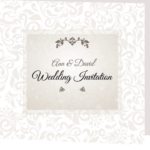 Elegant Ann Folded Wedding Invite