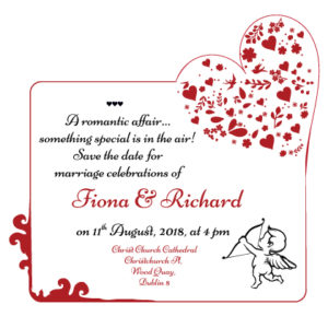 Rouge Romance Save The Date