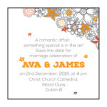 Touch of Orange Save The Date