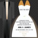 Wedding Attire Save The Date
