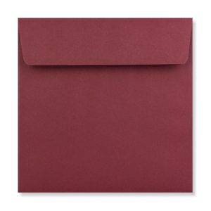 155 x 155 mm Burgundy Envelope