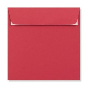 155 x 155 mm Bright Red Envelope