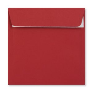 155 x 155 mm Dark Red Envelope