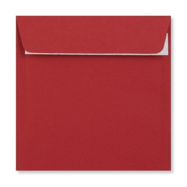 155 x 155 mm Dark Red Envelope