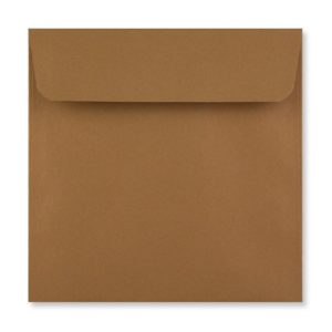 155 x 155 mm Mid Brown Envelope