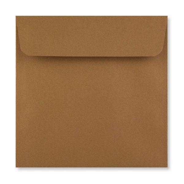 155 x 155 mm Mid Brown Envelope