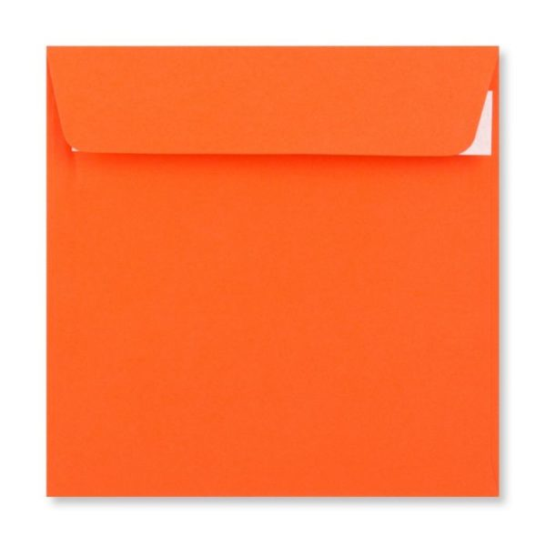 155 x 155 mm Orange Envelope