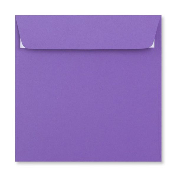 155 x 155 mm Purple Envelope