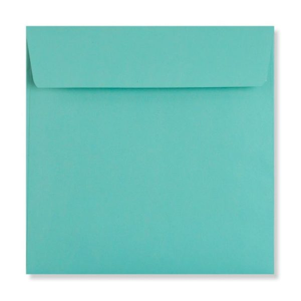 robin egg blue 155 x 155 mm envelope