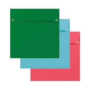 multi coloured envelopes