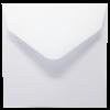 White 155 x 155 mm envelope