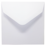 White 155 x 155 mm Envelope
