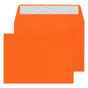 Pumpkin Orange C6 (114 x 162 mm) Envelope